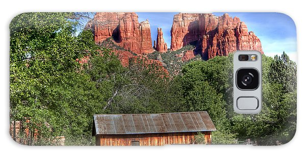 0682 Red Rock Crossing - Sedona Arizona Galaxy Case