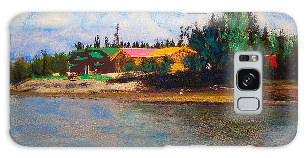 07152008 Chena River Alaska Galaxy Case