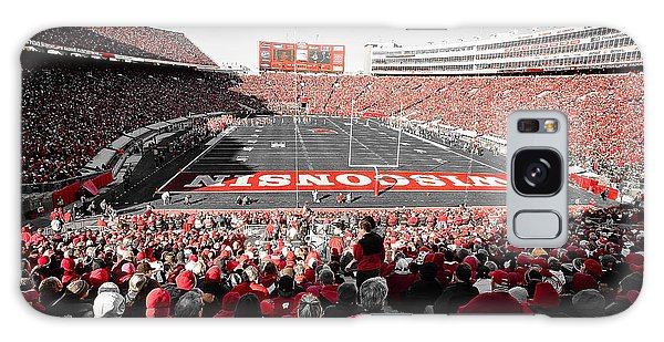 0811 Camp Randall Stadium Galaxy Case