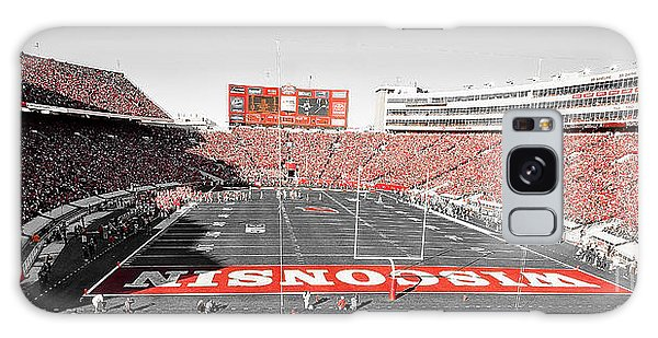 0813 Camp Randall Stadium Panorama Galaxy Case