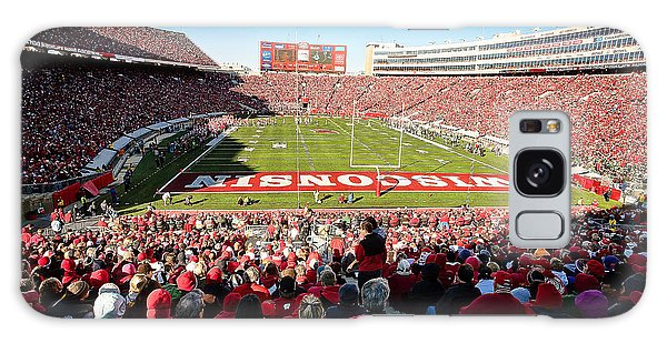 0814 Camp Randall Stadium Galaxy Case