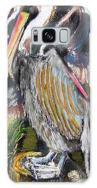 090914 Pelicans Galaxy Case