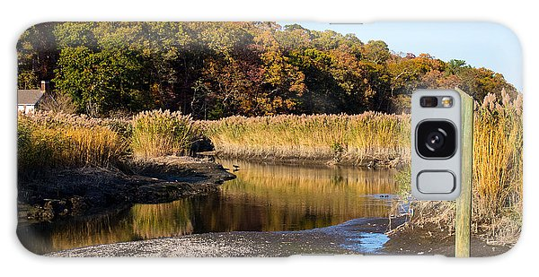 Fall Foliage At Nissequogue River Galaxy Case