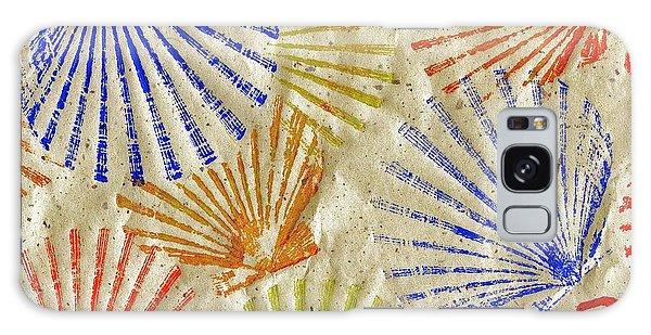 Gyotaku Scallops - Bivalvify - Seafood Melody Galaxy Case