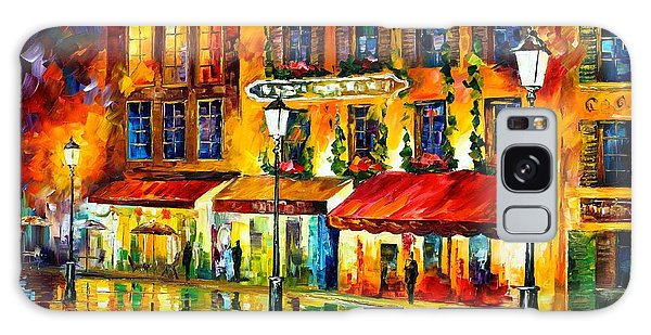 Abstract People Galaxy Case -  Paris Night Montmartre by Leonid Afremov