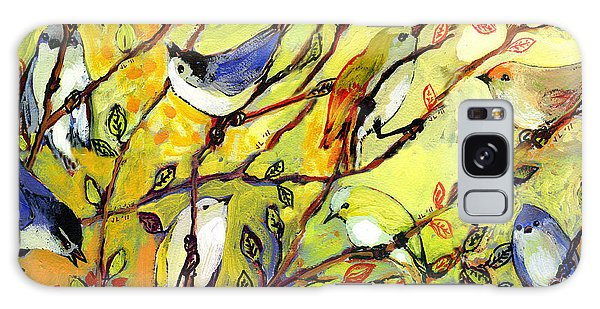 Rainbow Galaxy Case - 16 Birds by Jennifer Lommers