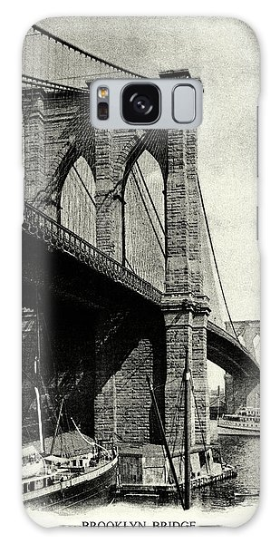1900 Brooklyn Bridge  Galaxy Case