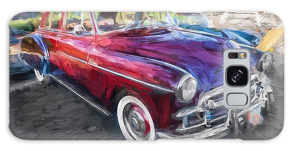 Dual Exhaust Galaxy Case - 1950 Chevrolet Sedan Deluxe Painted  by Rich Franco