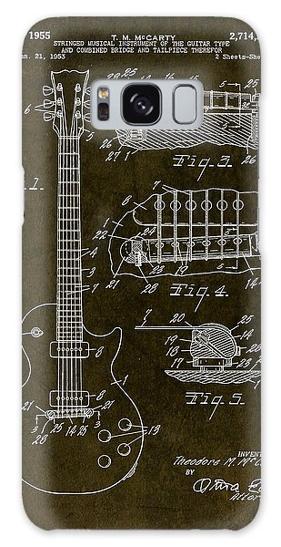 1955 Gibson Les Paul Patent Drawing Galaxy Case