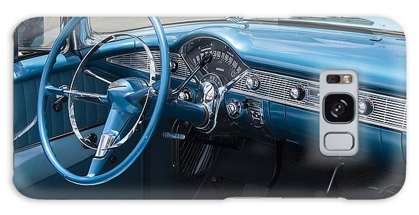 Dual Exhaust Galaxy Case - 1956 Chevrolet Bel Air Convertible by Rich Franco