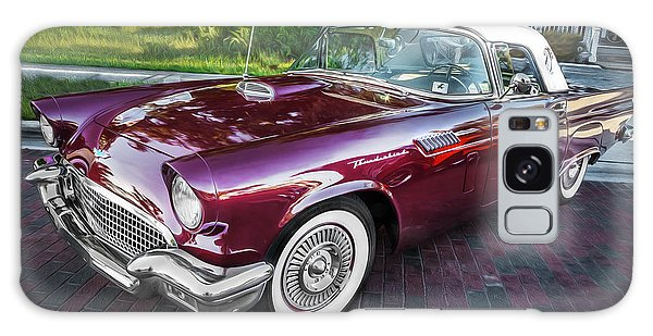 Dual Exhaust Galaxy Case - 1957 Ford Thunderbird Convertible Painted    by Rich Franco