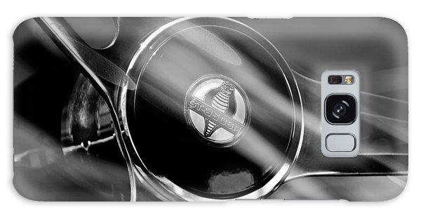 1965 Ford Mustang Cobra Emblem Steering Wheel Galaxy Case