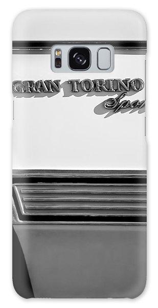 1972 Galaxy Case - 1972 Ford Gran Torino Sport Emblem by Jill Reger
