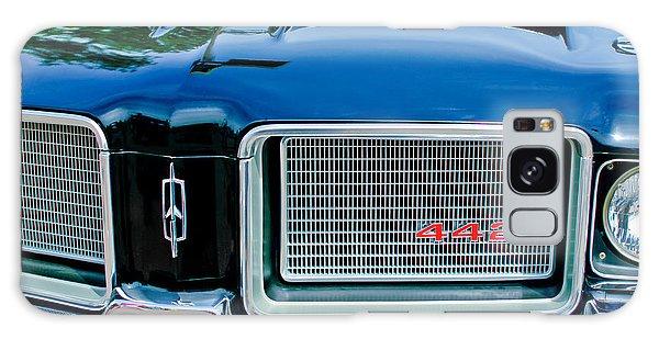 1972 Galaxy Case - 1972 Oldsmobile 442 Grille Emblem by Jill Reger