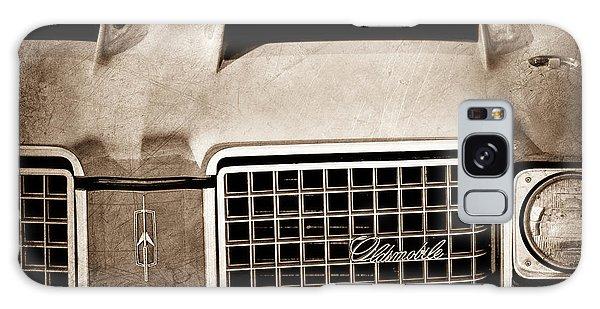 1972 Galaxy Case - 1972 Oldsmobile Grille Emblem by Jill Reger
