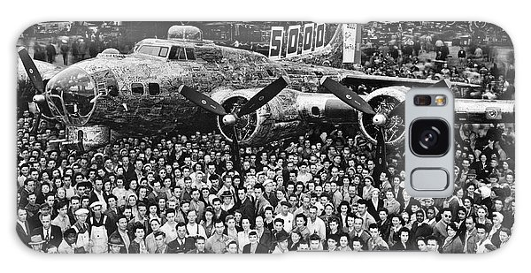 Bomber Galaxy Case - 5,000th Boeing B-17 Built by Underwood Archives