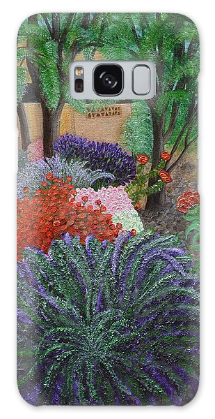 A Garden To Remember Galaxy Case