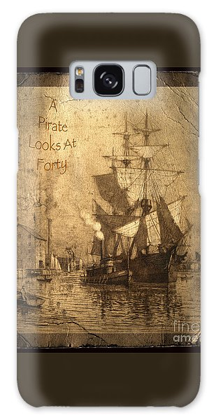 Parrot Galaxy S8 Case - A Pirate Looks At Forty by John Stephens