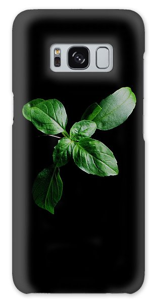 A Sprig Of Basil Galaxy Case