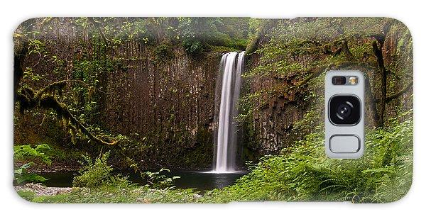 Abiqua Falls Oregon Galaxy Case