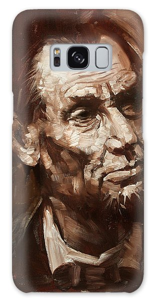 Abraham Lincoln Galaxy Case - Abraham Lincoln by Ylli Haruni
