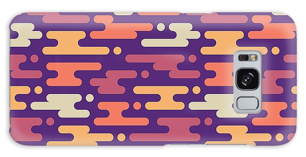 Horizontal Galaxy Case - Abstract Geometric Background - by Sergey Korkin