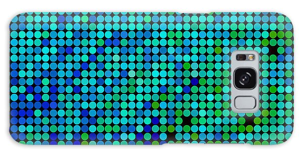 Drop Galaxy Case - Abstract Vector Colored Round Dots by Green Flame