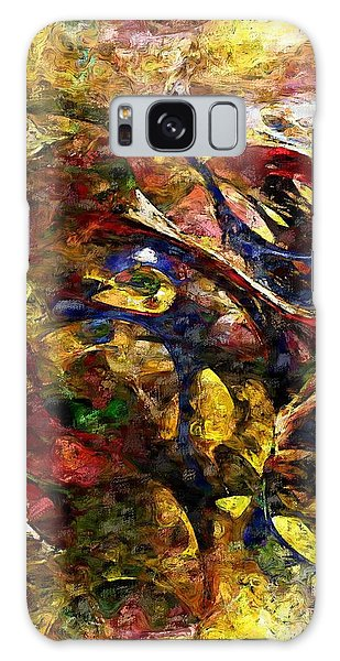 Abstraction 042714 Galaxy Case by David Lane