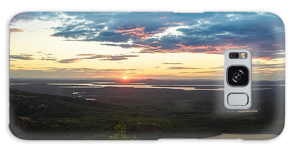 Acadia National Park Sunset  Galaxy Case by Trace Kittrell