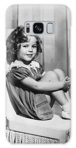 Actress Shirley Temple Galaxy Case