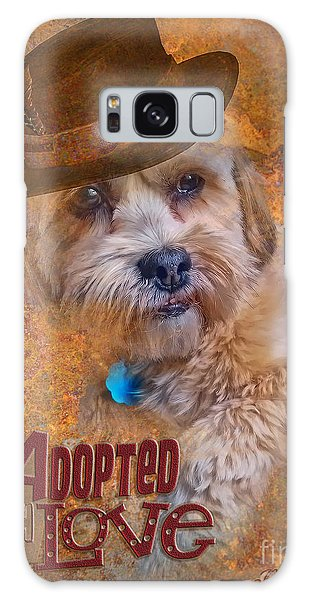 Adopted With Love Galaxy Case by Kathy Tarochione