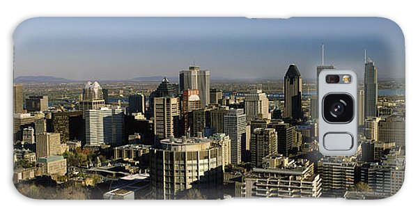 Quebec City Galaxy Case - Aerial View Of Skyscrapers In A City by Panoramic Images
