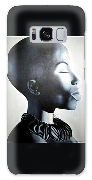 African Elegance - Original Artwork Galaxy Case