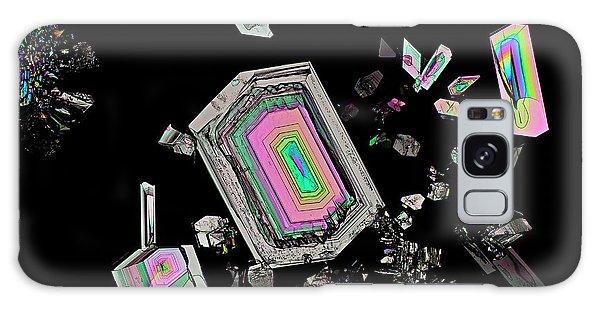 Biomedical Engineering Galaxy Case - Alanine Amino Acid Crystals by Antonio Romero/science Photo Library