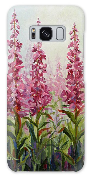 Alaska Fireweed Galaxy Case