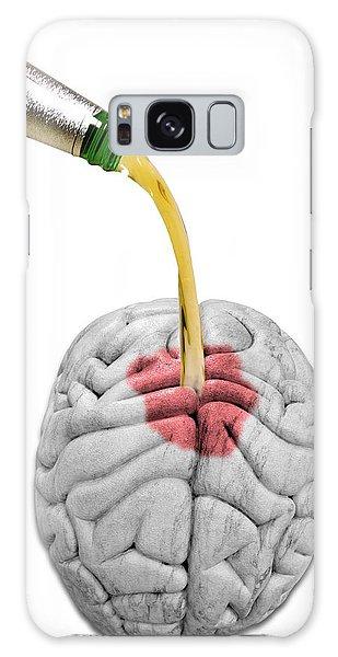 Scientific Illustration Galaxy Case - Alcoholism by Victor De Schwanberg