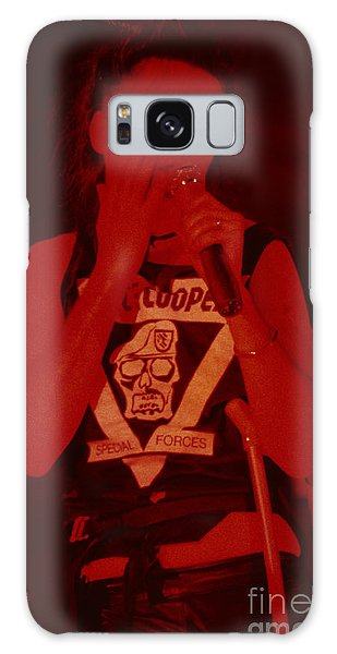 Alice Cooper Galaxy Case - Alice Cooper At The Concord Pavillion by Daniel Larsen