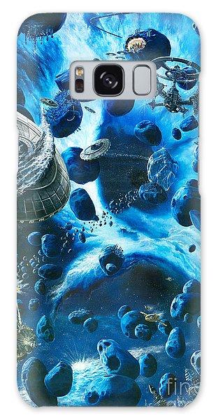 Outer Space Galaxy Case - Alien Pirates  by Murphy Elliott