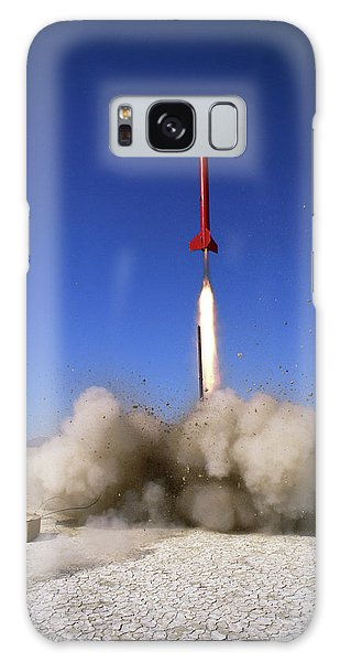 Amateur Galaxy Case - Amateur Rocketry by Peter Menzel/science Photo Library