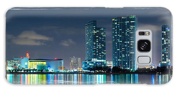 American Airlines Arena And Condominiums Galaxy Case by Carsten Reisinger