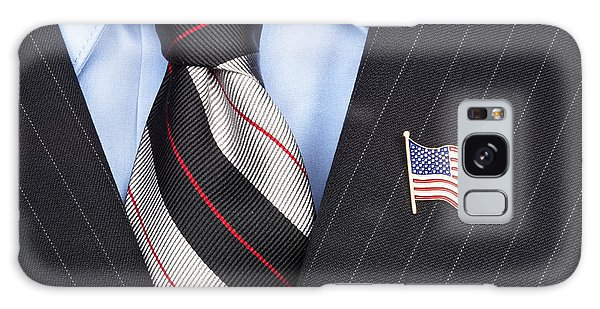 American Flag Lapel Pin Galaxy Case