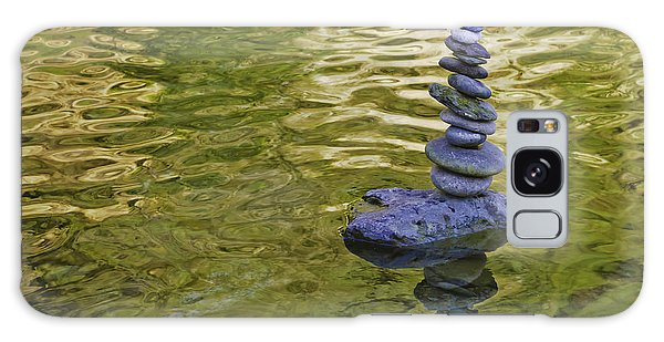 American River Rock Art Galaxy Case by Sherri Meyer