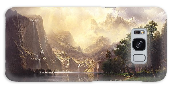Among The Sierra Nevada Mountains California Galaxy Case