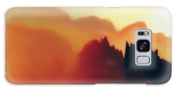 Amorphous 22 Galaxy Case by The Art of Marsha Charlebois