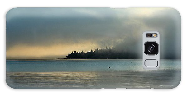 An Island In Fog Galaxy Case