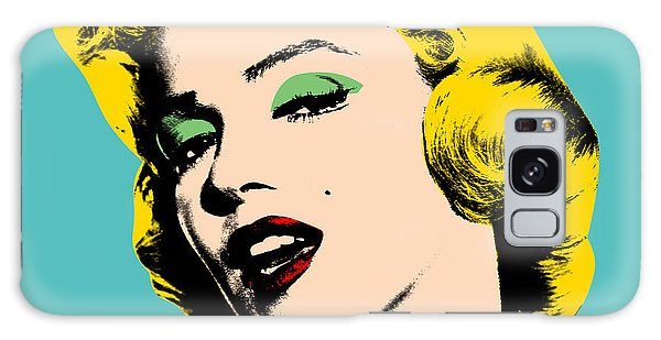 People Galaxy Case - Andy Warhol by Mark Ashkenazi