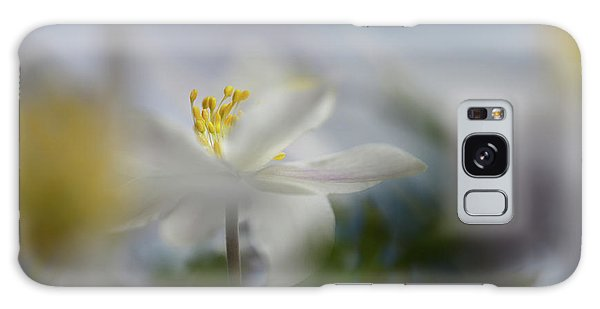 Soft Galaxy Case - Anemone Nemorosa by Heidi Westum
