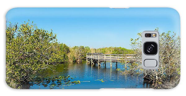 Anhinga Galaxy S8 Case - Anhinga Trail Boardwalk, Everglades by Panoramic Images