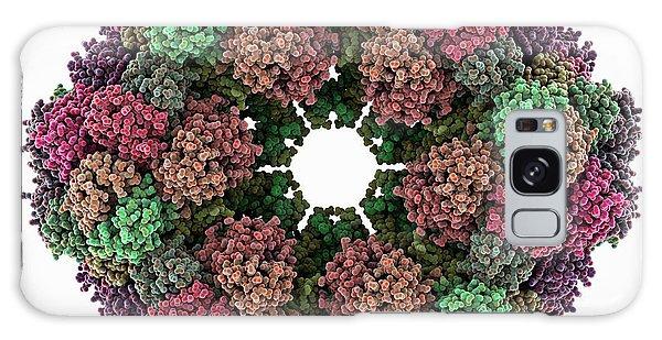 Molecular Biology Galaxy Case - Annelid Oxygen-carrying Protein Molecule by Laguna Design
