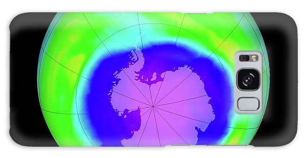 Earth From Space Galaxy Case - Antarctic Ozone Hole Maximum by Nasa/goddard Space Flight Center